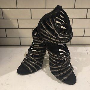 Aldo Bralivia Zipper Heels